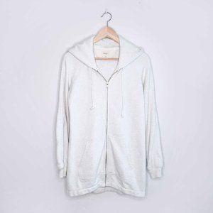Wilfred Free long hooded sweatshirt zip-up